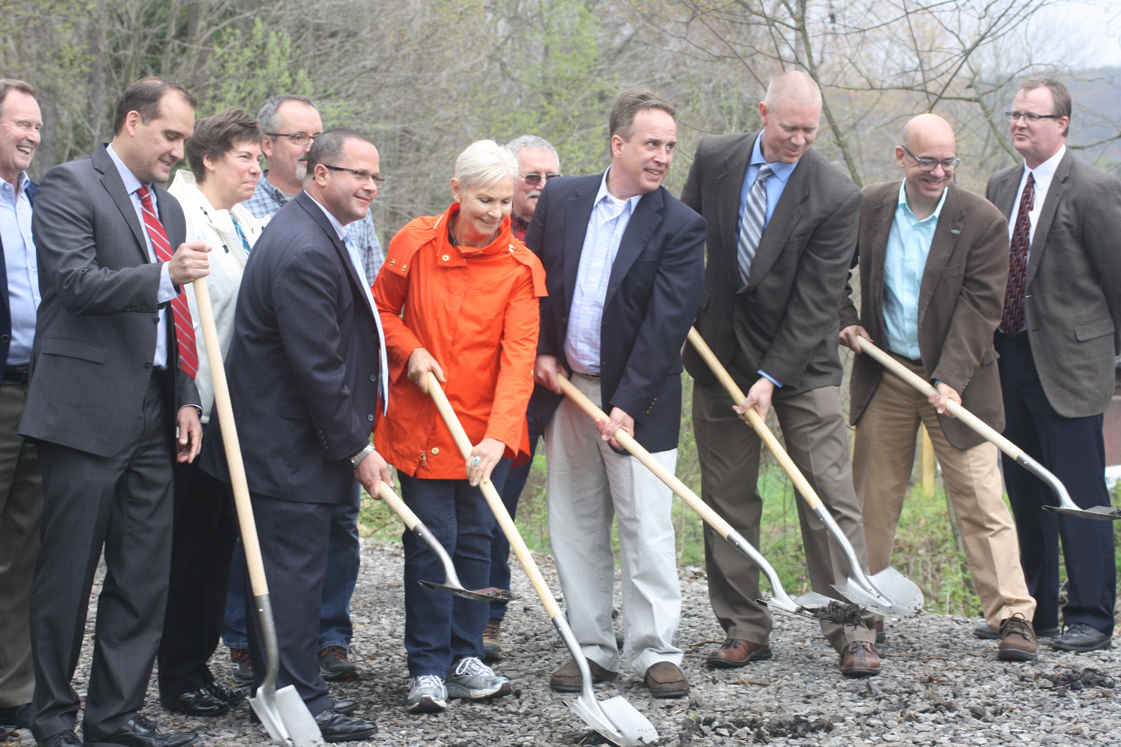 Groundbreaking: Ghost Town Trail Extension