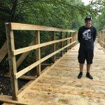 Local High School Student Builds Bridge On GTT Extension