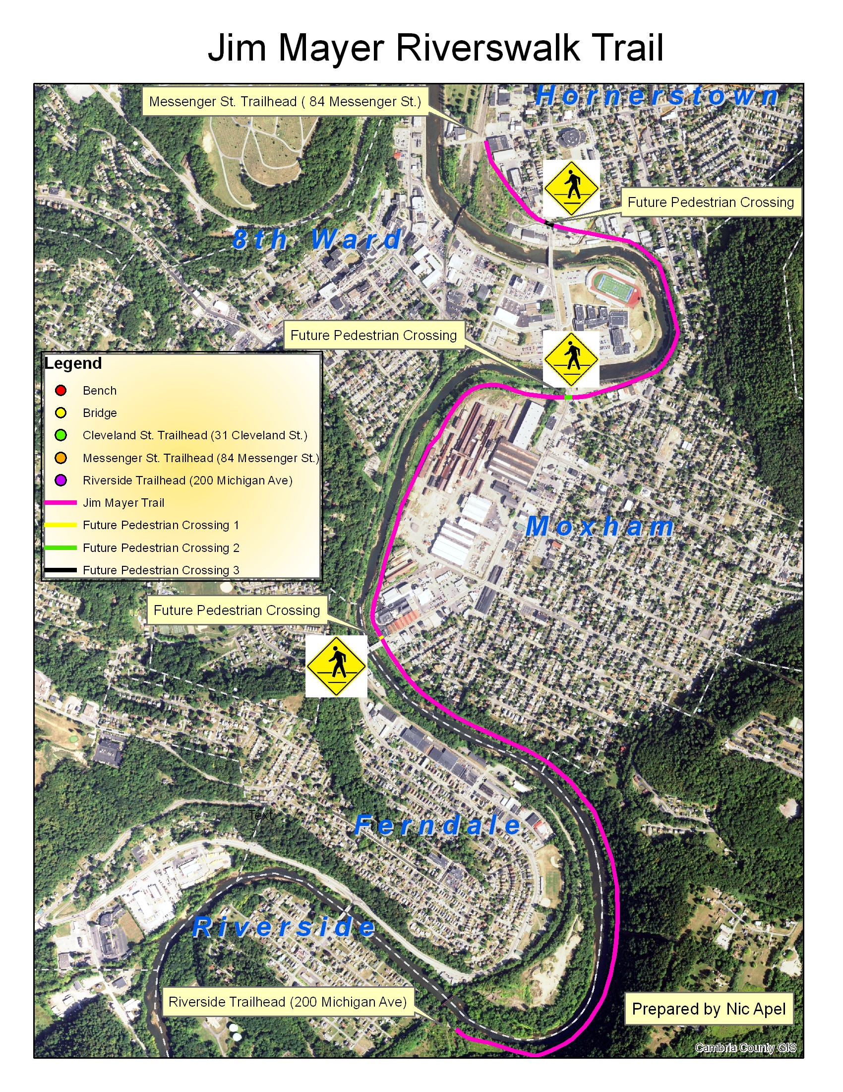 Cambria County Property Maps The Jim Mayer Riverswalk Trail   Cambria County Conservation